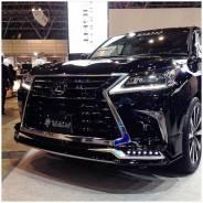 Обвес кузова аэродинамический. Lexus LX570 Lexus LX450. Под заказ