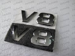 Эмблема V8 Patrol y62 , LC200 , Land cruiser 200 , QX56 на крыло. Toyota Land Cruiser Nissan Patrol, Y62