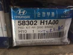 Колодки тормозные. Hyundai Terracan Двигатели: D4BA, D4BB, D4BF, D4BH