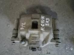 Суппорт тормозной. Honda: Capa, Civic Ferio, CR-X Delsol, Civic, Integra SJ, Domani, Partner, Logo Двигатели: D16B1, P6DD6, D14A3, P6FD6, D15Z5, MF616...
