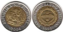 Филиппины 10 писо 2006 год