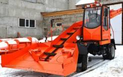 Кургандормаш КЗДМ 206. КЗДМ-206 Снегопогрузчик лаповый, 4 750куб. см.