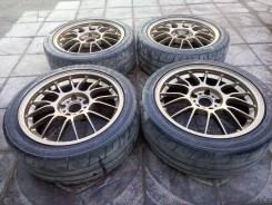 Продам лёгкий кованый комплект колёс Volk Racing SE37. 7.5/7.5x17 5x114.30 ET30/40 ЦО 73,1мм. Под заказ