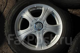 Комплект зимних колес 16*7+48 5*100/114.3 + шины 215/60/16. 7.0x16 5x100.00, 5x114.30 ET48