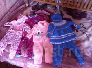 Продам вещи на девочку от 100 до 300 рублей. Рост: 60-68, 68-74, 74-80 см