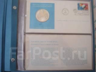 Памятные медали ООН 1975 г. серебро 925 пр., пруф.