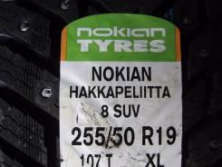 Nokian Hakkapeliitta 8 SUV. Зимние, шипованные, 2016 год, без износа, 4 шт