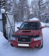 Дефлектор капота. Subaru Forester, SG5, SG