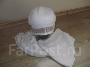 Шапка и шарф. 57, 58, 55-59, 59