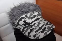 Кепка парик Velcro для сноуборда - креативный подарок горнолыжнику !