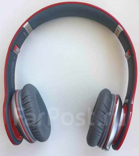 Наушники Beats by dr.dre Solo HD Special Edition RED оригинал ... eda305ee3f54a