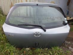 Дверь багажника. Toyota Vitz, KSP90, NCP91, NCP95, SCP90 Toyota Yaris, NCP91, ZSP90 Двигатели: 1NZFE, 2NZFE, 2SZFE, 1KRFE, 2ZRFE