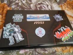 """MSI GE70 0ND. 17.3"""", 2,5ГГц, ОЗУ 8192 МБ и больше, диск 750 Гб, WiFi, Bluetooth"""