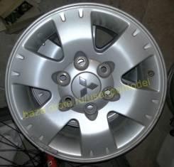"""Комплект колпаков для оригинальных литых дисков Mitsubishi Pajero 4. Диаметр Диаметр: 16"""", 4 шт."""
