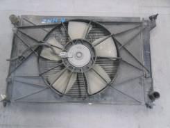 Радиатор охлаждения двигателя. Toyota Isis, ZNM10 Двигатель 1ZZFE