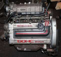 Двигатель в сборе. Mitsubishi Eterna, E53A Mitsubishi Galant, E53A Двигатель 4G67