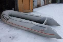 Лодка ПВХ. Год: 2013 год, двигатель подвесной, бензин