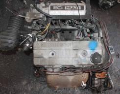 Двигатель в сборе. Mitsubishi Chariot, N33W, N43W Двигатель 4G63