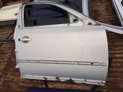Дверь передняя правая Пассат Б5 серебристый металлик