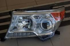 Фара. Toyota Land Cruiser, GRJ200, URJ200, URJ202, URJ202W, VDJ200 Toyota Origin Двигатели: 1GRFE, 1URFE, 1VDFTV, 3URFE