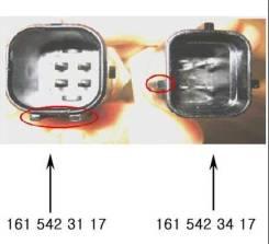 Датчик температуры охлаждающей жидкости 1615423117 Rodius,(D27), (E28,E32) Actyon, (E23) Kyron, (D20,D27), (E23), (E32) Musso Sports,(OM600,D20,D27)