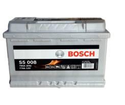 Bosch. 77 А.ч., правое крепление, производство Европа
