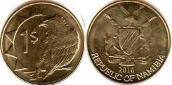 Намибия 1 доллар 2010 (иностранные монеты)