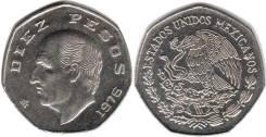 Мексика 10 песо 1982 год (иностранные монеты)