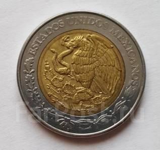 Мексика 5 песо 2007 год (иностранные монеты)