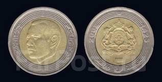 Марокко 5 дирхамов 2002 год (иностранные монеты)