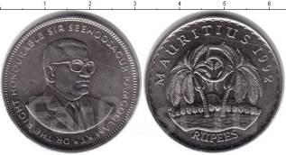 Маврикий 5 рупий 1992 год (иностранные монеты)