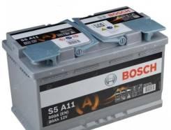 Bosch. 80 А.ч., правое крепление, производство Европа