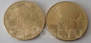 Колумбия 100 песо 2015 (иностранные монеты)