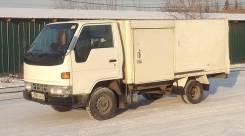 Toyota Dyna. Термос 1,5тонны, 2 779 куб. см., 1 500 кг.