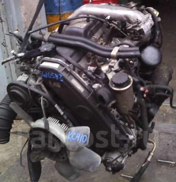 Двигатель 1KZ-TE Toyota