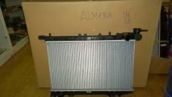 Радиатор охлаждения двигателя. Nissan: Presea, Pulsar, Sunny, Almera, Lucino Двигатели: GA15DE, GA16DE, SR18DE, GA13DE, GA14DE