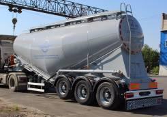 Bonum. Полуприцеп-цистерна цементовоз 34м3 , 32 000 кг.