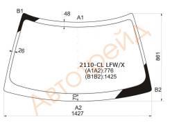 Стекло лобовое в клей(без полосы) LADA (110-SERIESS) PRIORA 99-