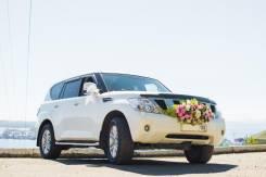 Nissan Patrol на любое мероприятие, свадьбу.