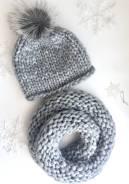 Шапка и шарф. 56, 57, 58, 55-59. Под заказ