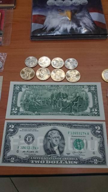 1 доллар на счастье 10coм монета 2009 г