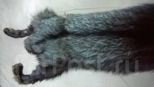 Продам шкуру черной лисы (чернобурка)