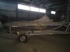 Моторная лодка Rusboat 43 jet. Год: 2016 год, длина 4,30м., двигатель подвесной, 40,00л.с., бензин