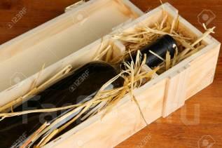 Ящик подарочный из натурального дерева. Ручная работа!