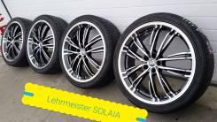 265-35-22, Lehrmeister Solaia V5, в наличии. 8.5x22 5x114.30 ET35 ЦО 90,0мм.