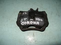 Суппорт тормозной. Toyota Corona, CT190 Двигатель 2CT