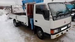 Mitsubishi Canter. Продам грузовик с манипулятором mmc canter, 3 600 куб. см., 2 500 кг.