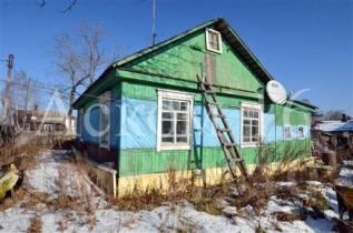 Загородный дом с большим участком земли. Улица Мечникова 46, р-н Спутник, площадь дома 49 кв.м., электричество 15 кВт, отопление твердотопливное, от...
