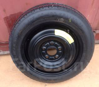 Запаска (банан) Nissan Juke Оригинал Dunlop T135/80D15. 4.0x15 5x114.30 ЦО 67,0мм.