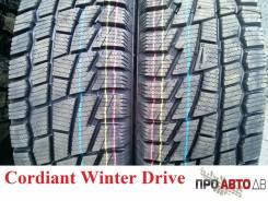 Cordiant Winter Drive. Зимние, без шипов, 2017 год, без износа, 4 шт